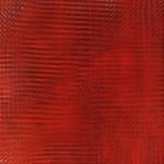 Patrick Tabarelli, {F}, 2016, liquid watercolor on canvas, 35x35cm